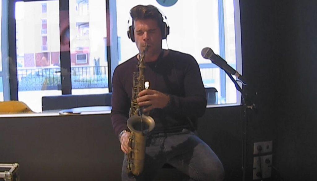 Ricardo Branco celebrou Dia do Saxofonista com a ONfm