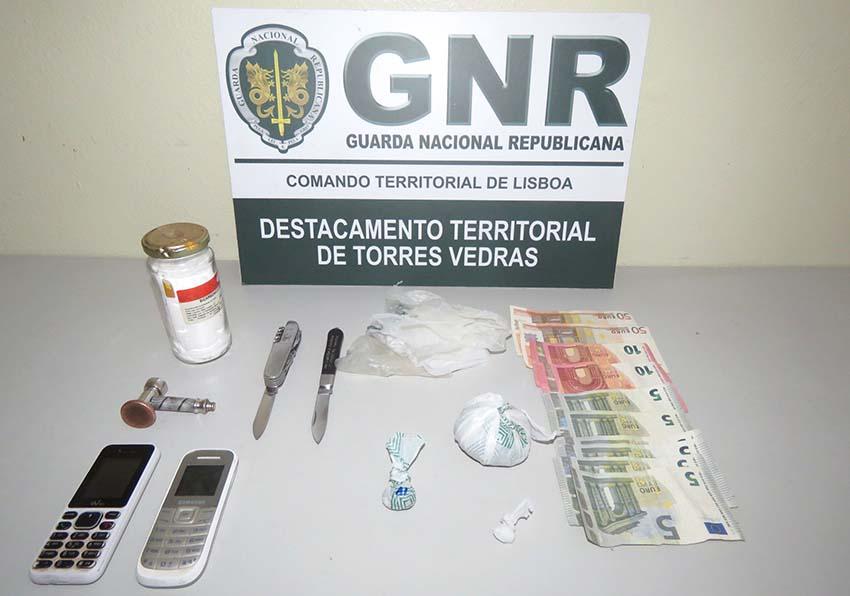 TORRES VEDRAS: Homem de 59 anos detido por tráfico de estupefaciente