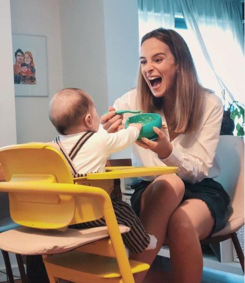 Sara Prata partilha com fãs a reação hilariante da filha ao comer brócolos!